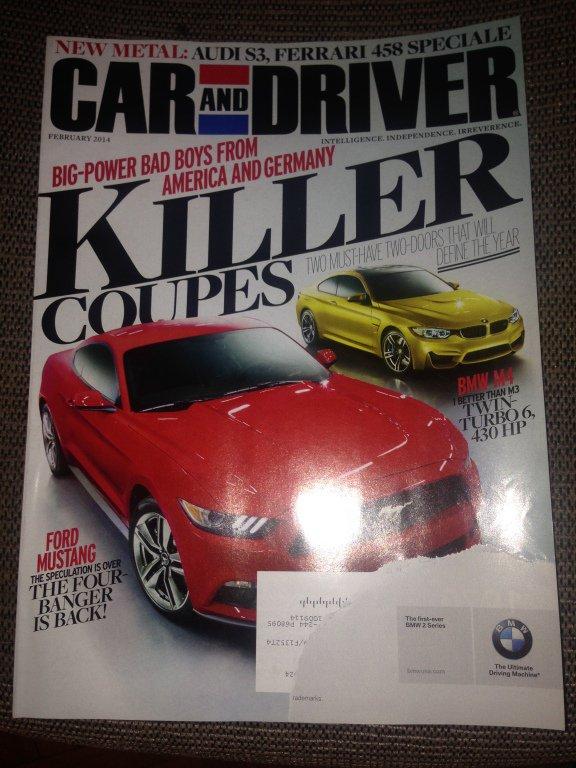 Motor Trend magazine february 2014