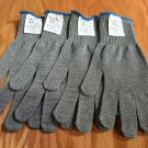 FOUR MAXX WEAR CUT RESISTANT GLOVES- CR-10 Spectra/Stainless Steel Blend, LARGE