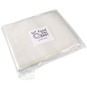 "50 11""x16"" 4 Mil Embossed FoodVacBags Storage GALLON Food Saver Vacuum Bags!"