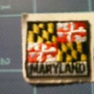 Maryland State Flag Embroidered Patch Sew Iron On Biker Vest Applique Emblem New