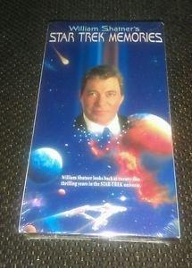 William Shatner's Star Trek Memories (VHS, 1996)
