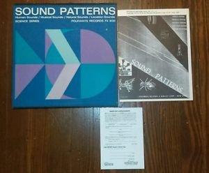 Sound Patterns Folkways Science '53 electronic musique concrete+field recordings