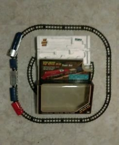 Battery Operated The Royal Blue Train Set Sound Smoking Light ExcellentCondition