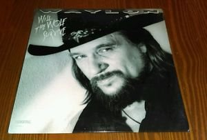 A Rare, new, sealed, Waylon Jennings Will the Wolf Survive LP Vinyl album MCA