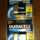 NEW Duracell 223 6V Ultra Photo Camera Battery DL223 IN DATE 2020
