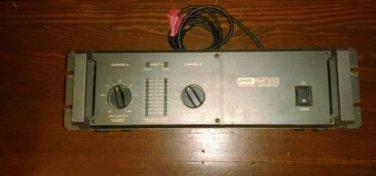 AMR PMA-200 dual Channel power amplifier.