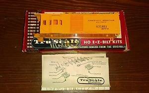 Orange Tru-Scale Models H O Scale # S826-O-198 Caboose Supply Car