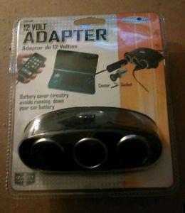 12V Triple Socket Cigarette Lighter Ports Adapter/Splitter for Auto-Car-Truck
