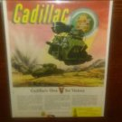 WW2 US Army Cadillac's Own V for Victory Engine Capehart- Panamuse Ad