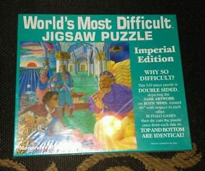 World's Most Difficult Jigsaw Puzzle - Monarch's Mystery - 529 Pcs Double Sided