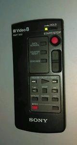 Original/Genuine SONY RMT-502 Remote Control Video 8 Camcorder HandyCam
