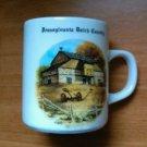 Vintage Pennsylvania Dutch Country Coffee Mug By Walter J. Seibold