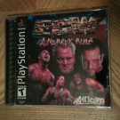 ECW Anarchy Rulz PS1 Great Condition Complete Rare