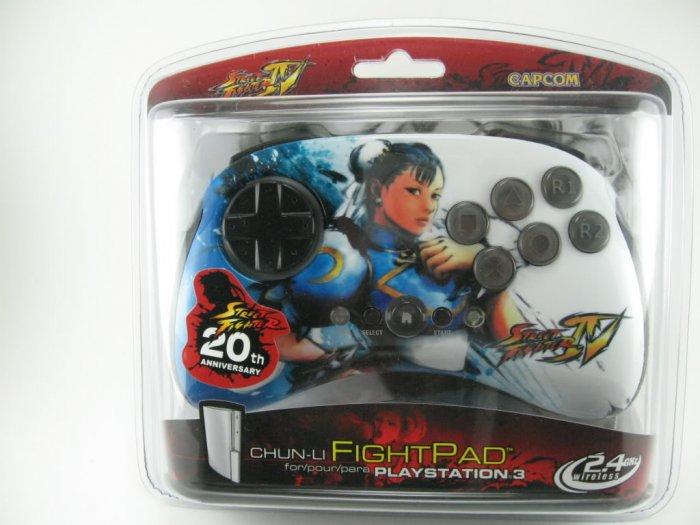 Street Fighter 4  IV  Chun Li Fight Pad Ps3 Brand NEW