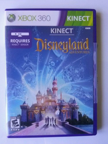 Kinect Disneyland Adventures (Xbox 360, 2011) Free Shipping