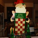 "Gorgeous 22"" tall Santa  Countingdown To Christmas Calendar"
