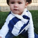 Blue Boy Scarf / Bib Super Absorbent and Stylish by Baby Forezt