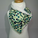 Super Green Scarf / Bib Super Absorbent and Stylish by Baby Forezt