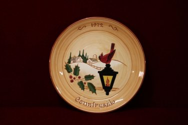 Glen View Collectible  Plate Countryside 1972