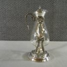 Sheridan Silver Plated Pedestal Coffee Tea Server Carafe Vintage