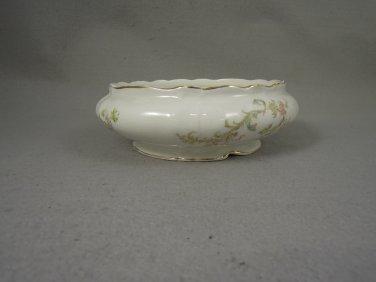 Antique Maddock Lamberton Works  Bowl Floral gold trim