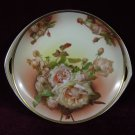 Antique  Rosenthal Cake Plate Roses Donatello Hand Painted