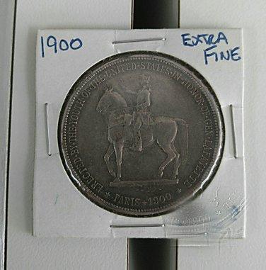 Lafayette dollar very nice extra fine or better key date