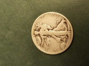 1917s obverse key walking liberty half key