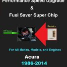 Acura Performance IAT Sensor Resistor Chip Mod Kit Increase MPG HP Speed Power Super Fuel Gas Saver