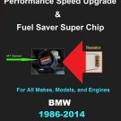 BMW Performance IAT Sensor Resistor Chip Mod Kit Increase MPG HP Speed Power Super Fuel Gas Saver