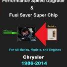 Chrysler Performance IAT Sensor Resistor Chip Mod Increase MPG HP Speed Power Super Fuel Gas Saver