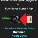 Hummer Performance IAT Sensor Resistor Chip Mod Kit Increase MPG HP Speed Power Super Fuel Gas Saver