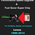 Lexus Performance IAT Sensor Resistor Chip Mod Kit Increase MPG HP Speed Power Super Fuel Gas Saver