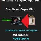 Mitsubishi Performance IAT Sensor Resistor Chip Mod Increase MPG HP Speed Power Super Fuel Gas Saver
