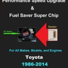 All Toyota IAT Sensor Resistor Chip Mod Increase MPG+HP Performance Speed Power Super Fuel Gas Saver