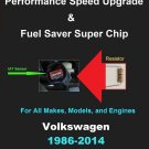 Volkswagen Performance IAT Sensor Resistor Chip Mod Increase MPG HP Speed Power Super Fuel Gas Saver