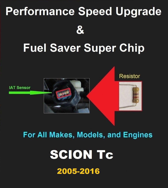 Scion Tc 2005-16 Performance IAT Sensor Resistor Chip Mod Increase MPG HP Power Super Fuel Gas Saver
