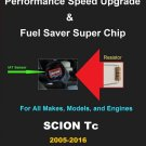 Scion Tc 2005-16 Performance IAT Sensor Resistor Chip Mod Increase MPG HP Power Super Fuel Gas Saver