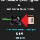 DSM 1988-04 Performance IAT Sensor Resistor Chip Mod Kit Increase MPG HP Power Super Fuel Gas Saver