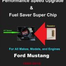 Ford Mustang Performance IAT Sensor Resistor Chip Mod Kit Increase MPG HP Speed Power Fuel