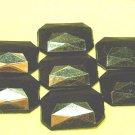 15 pcs Black Diamond Cut 2.5cm Arcylic Bead DIY1