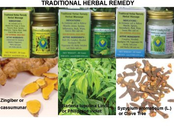 100% Natural Herbal Balm