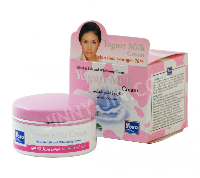 Yoko Day and Night Yogurt Face cream - Skin Whitening, Wrinkle lift - 50g