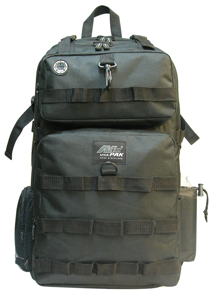 "21"" 2000 cu. in. Great Hunting Camping Hiking Backpack DP321 BLACK"