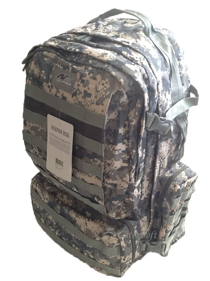 "22"" 4300 cu. in. Tactical Hunting Camping Hiking Backpack OP822 DM DIGI CAMO"