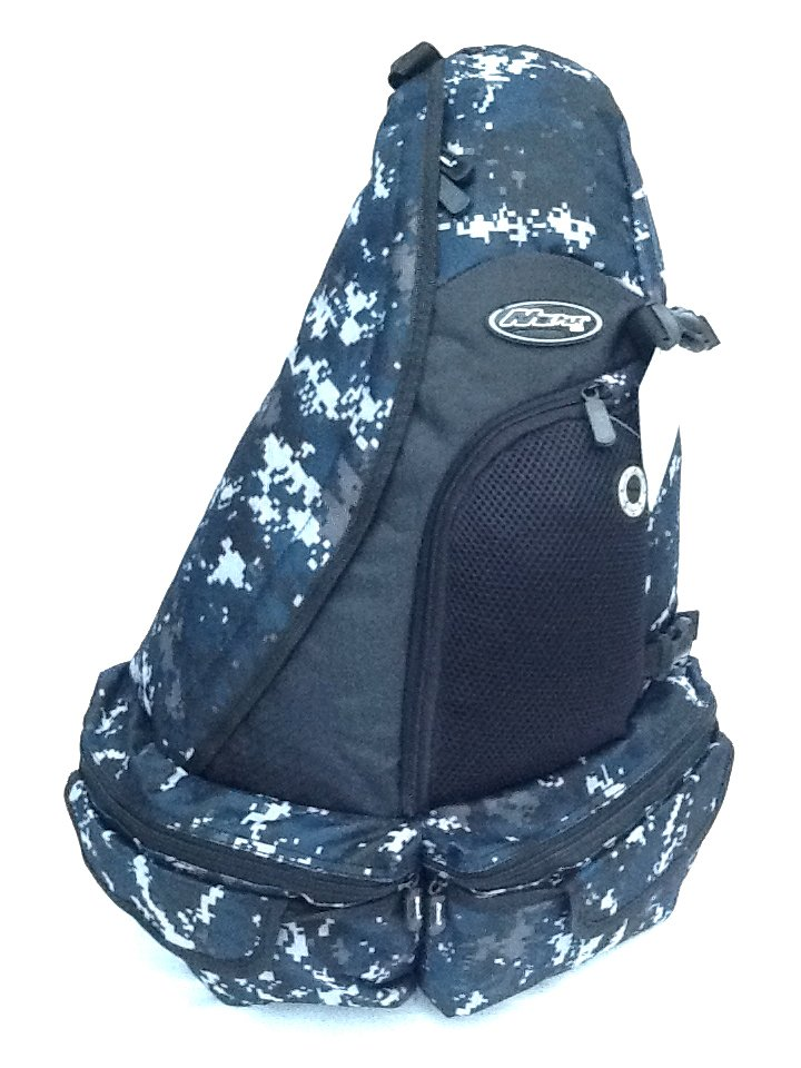 "21"" 1700cu.in. Tactical Sling Shoulder Hiking Backpack BB002 Digital Camouflage DMBK (Navy Blue)"