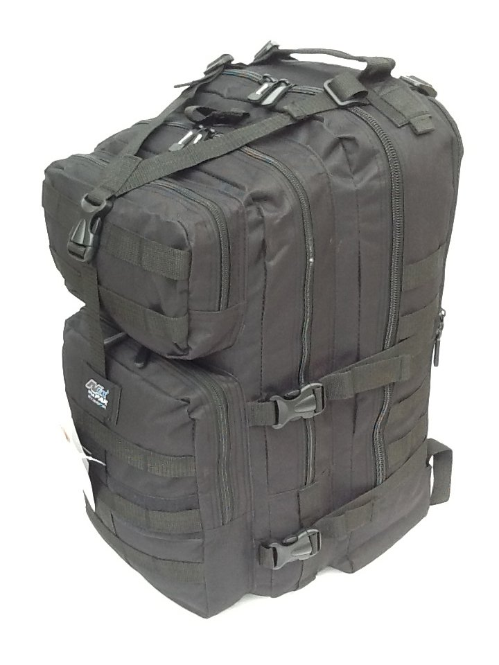 "21"" 3400 cu.in. Tactical Hunting Camping Hiking Backpack ML121 BLACK"