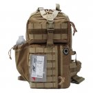 "18"" 1200 cu. in. Tactical Sling Single Shoulder Backpack TL318 TAN"