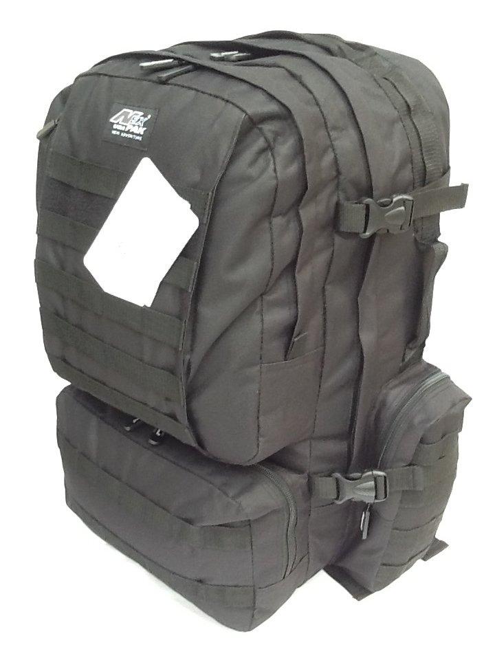 "22"" 4300cu.in. NexPak Tactical Hunting Camping Hiking Backpack OP822 BLACK"