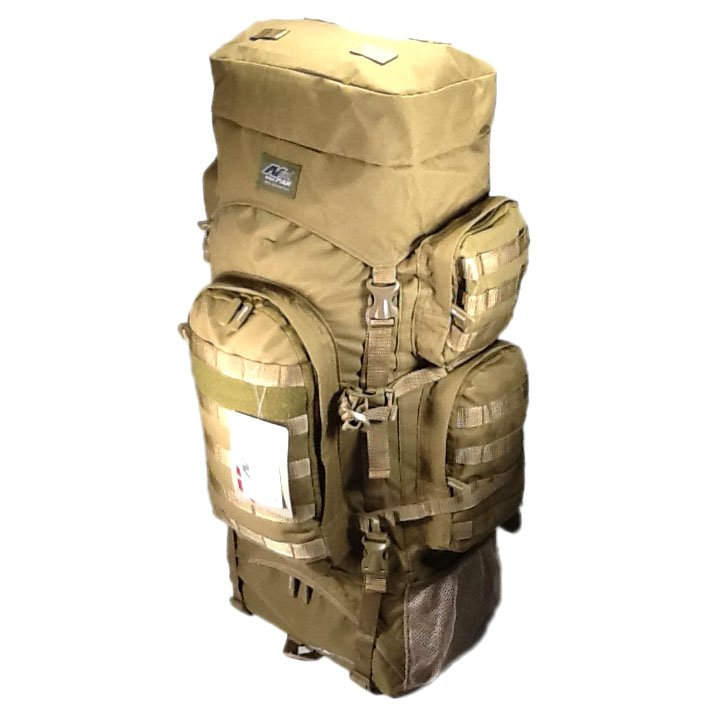 "34"" 5200cu in NexPak Tactical Hunting Camping Hiking Backpack THB001 TAN"